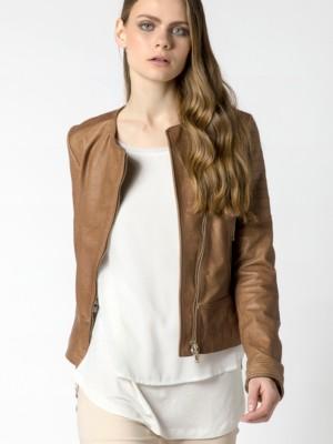 Patrizia Pepe - Байкерская куртка из наппы ягненка от Patrizia Pepe