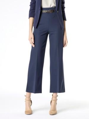 Patrizia Pepe - Длинные брюки кроя палаццо из биэластичного твила