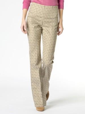 Patrizia Pepe - Узкие брюки из жаккардового люрекса, окрашенного в волокне