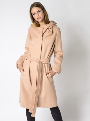 Patrizia Pepe - Пальто из сукна из шерсти и кашемира