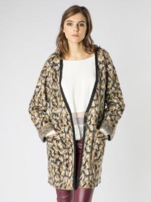 Patrizia Pepe - Пальто из полумохеровой пряжи